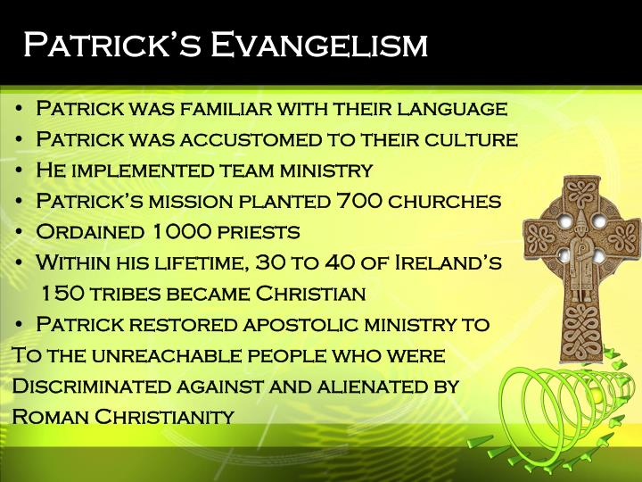 Patrick's Evangelism