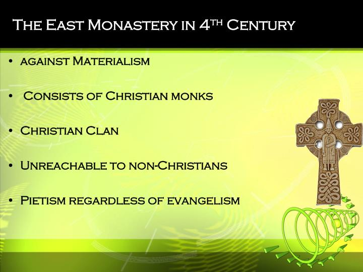 The East Monastery in 4