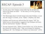 recap episode 3