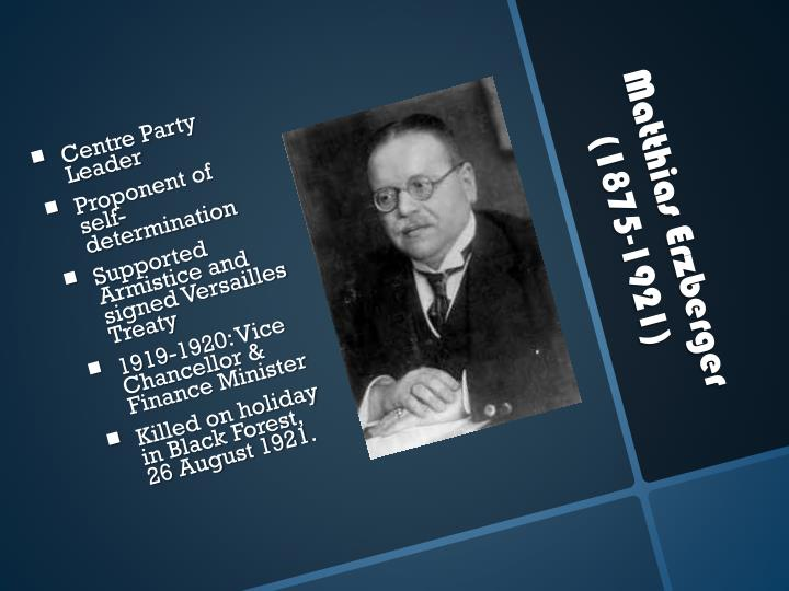 Centre Party Leader