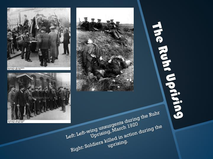 The Ruhr Uprising