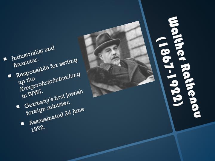 Industrialist and financier.