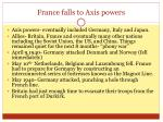 france falls to axis powers
