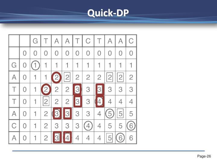 Quick-DP