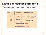 example of fragmentation con t3