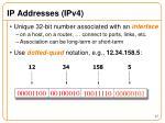 ip addresses ipv4