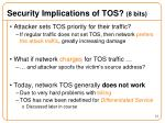 security implications of tos 8 bits