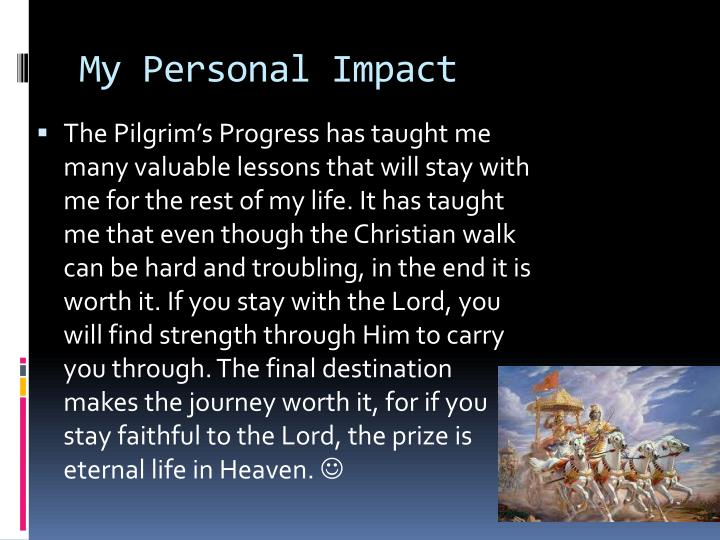 My Personal Impact