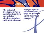 care cycle