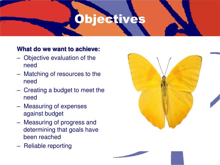 What do we want to achieve: