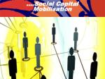social capital mobilisation