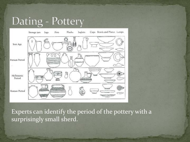 Dating - Pottery