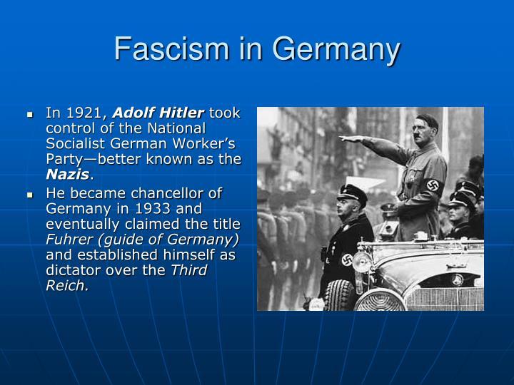 Fascism in Germany