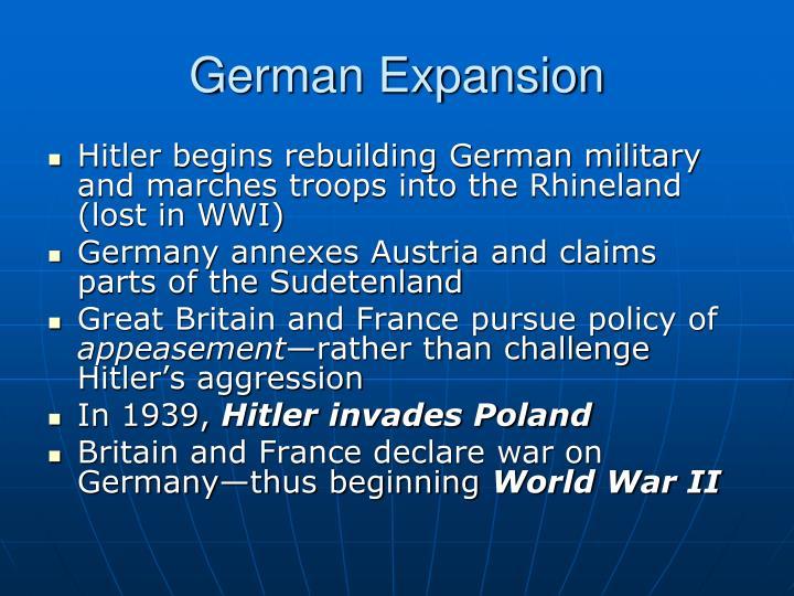 German Expansion
