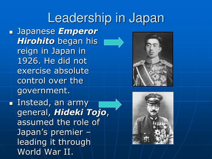 Leadership in Japan