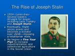the rise of joseph stalin