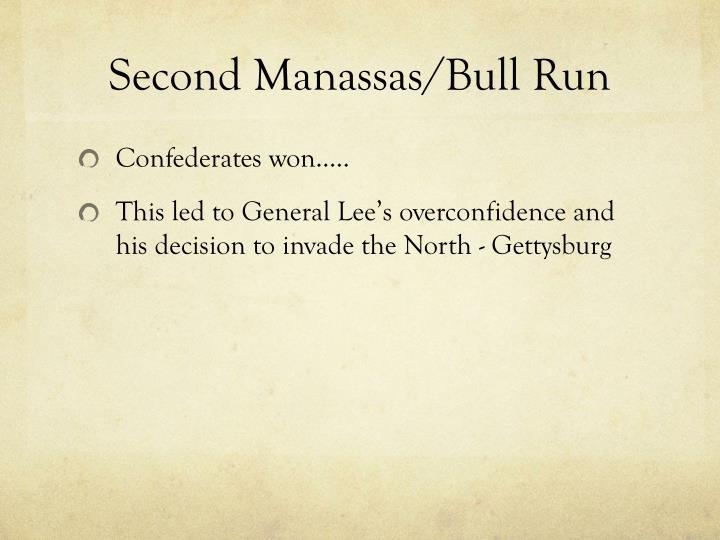 Second Manassas/Bull Run