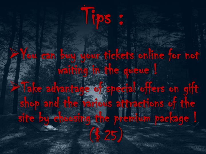 Tips :