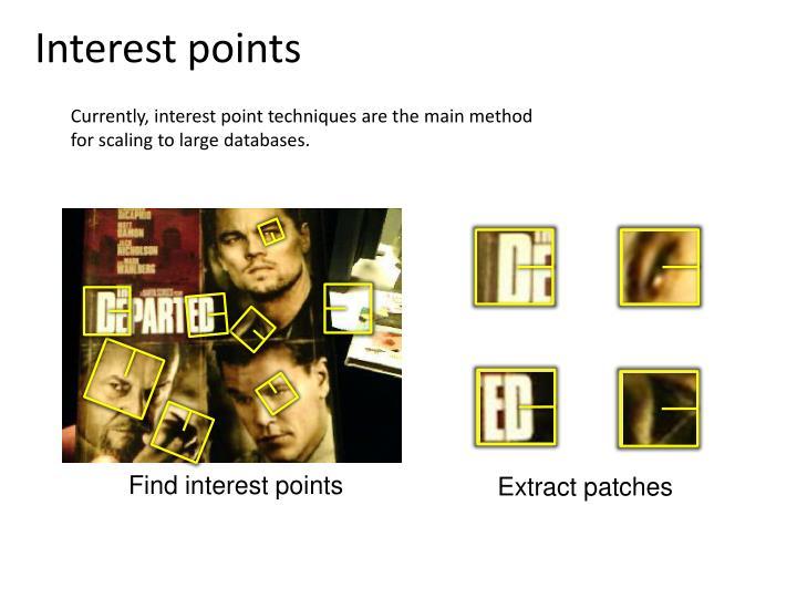 Interest points