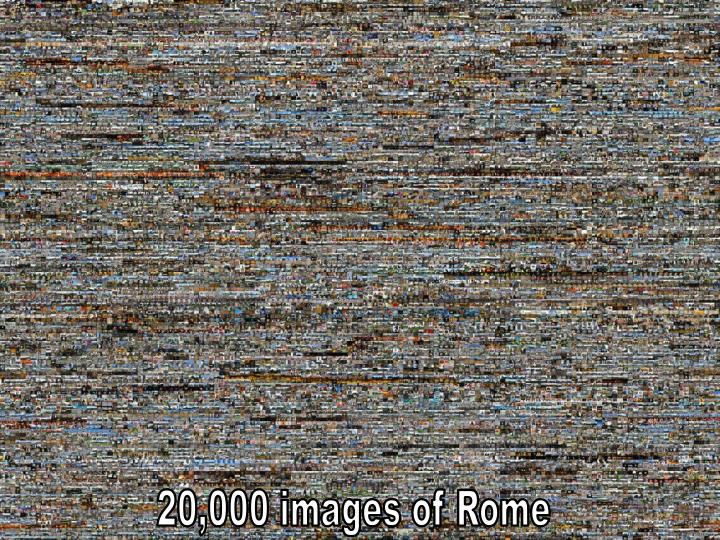 20,000 images of Rome