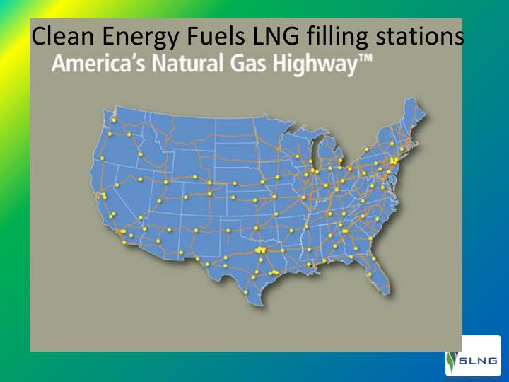 Clean Energy Fuels LNG