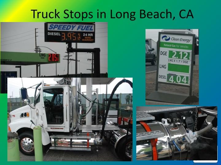 Truck Stops in Long Beach, CA