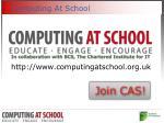 computing at school
