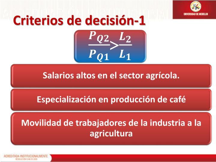 Criterios de decisión-1