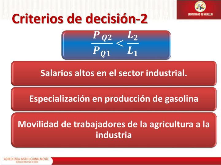 Criterios de decisión-2