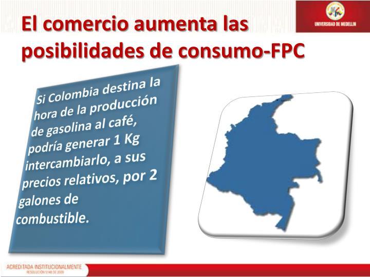 El comercio aumenta las posibilidades de consumo-FPC