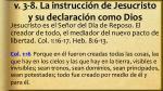 v 3 8 la instrucci n de jesucristo y su declaraci n como dios4
