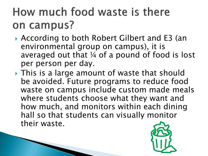 How much food waste is there