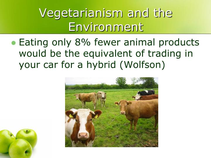 Vegetarianism and the Environment