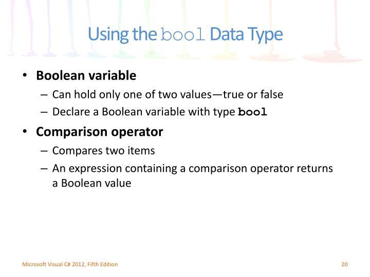 Boolean variable