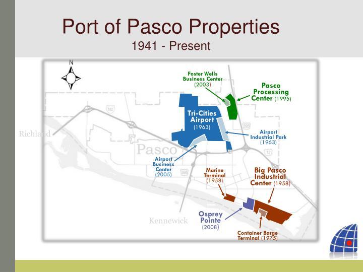 Port of Pasco Properties