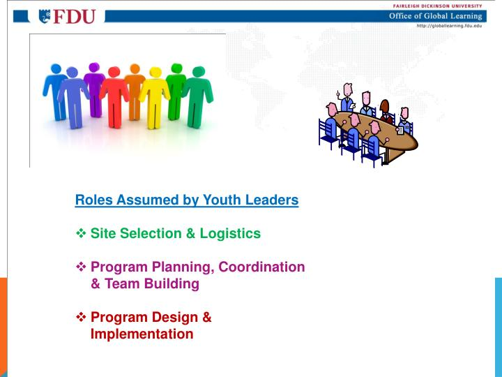 Roles Assumed by Youth
