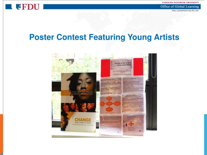 Poster Contest Featuring Young Artists