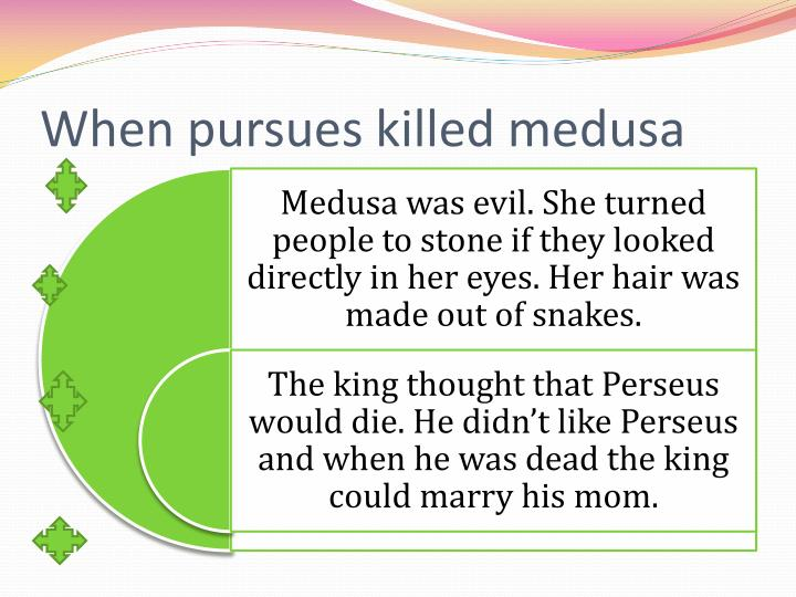 When pursues killed medusa