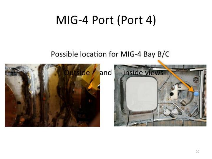 MIG-4 Port (Port 4)