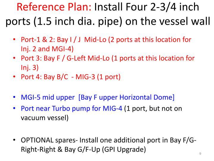 Reference Plan: