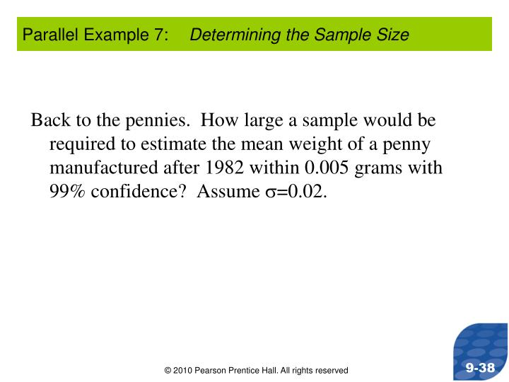 Parallel Example 7: