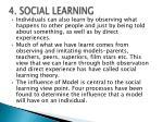 4 social learning