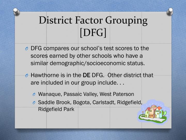 District Factor Grouping