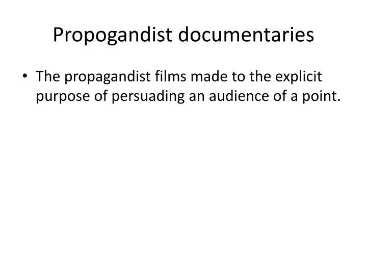 Propogandist document