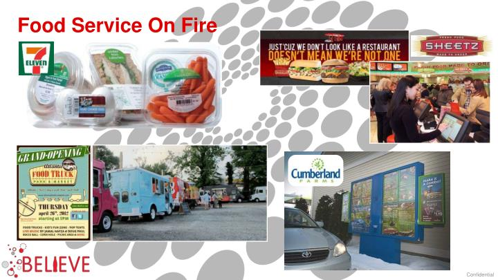Food Service On Fire