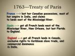 1763 treaty of paris