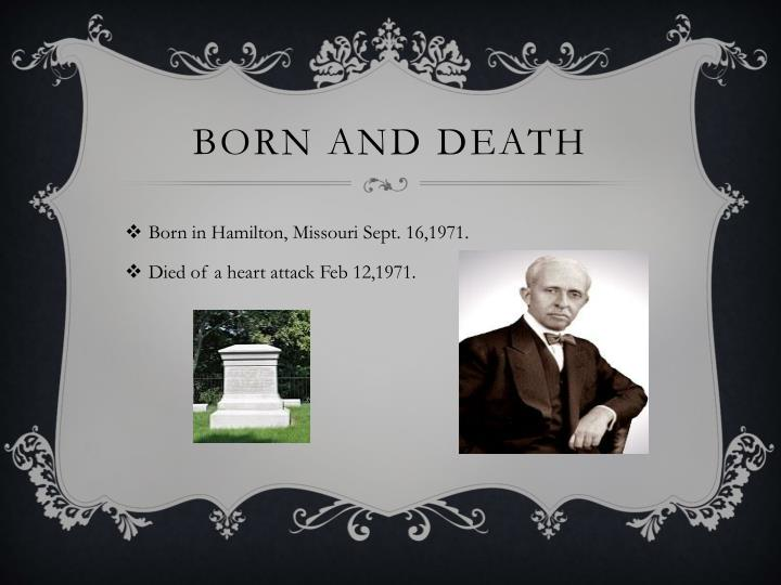 Born and