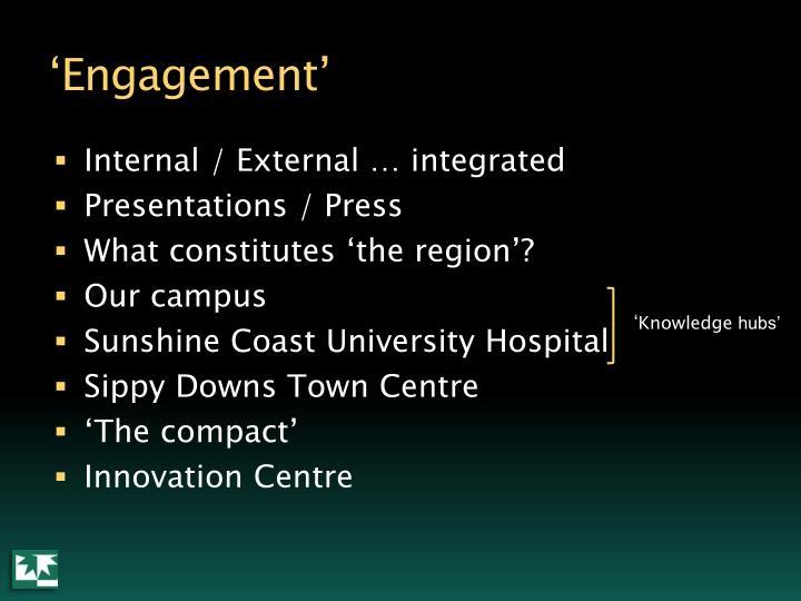 'Engagement'