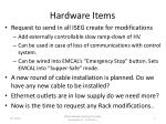 hardware items