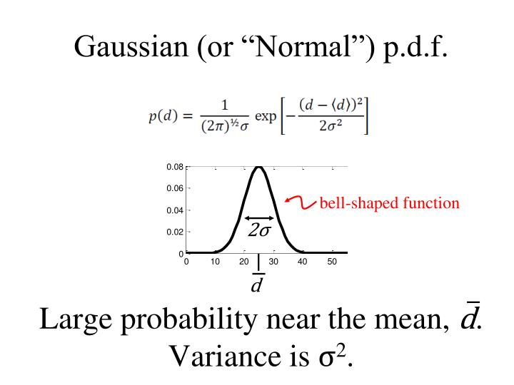 "Gaussian (or ""Normal"")"